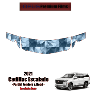 2021 Cadillac Escalade – Precut Paint Protection Kit (PPF) Partial Hood + Fenders