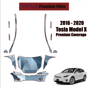 2016 – 2021 Tesla Model X Paint Protection Kit (Full Front With A-Pillars)