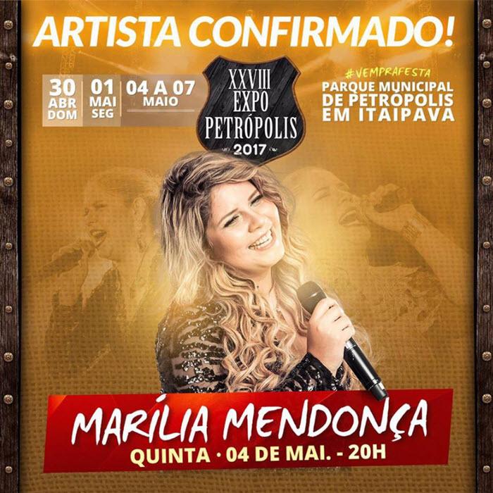 Expo Petrópolis 2017 - Marília Mendonça