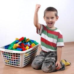 Incluir as crianças na organização da casa