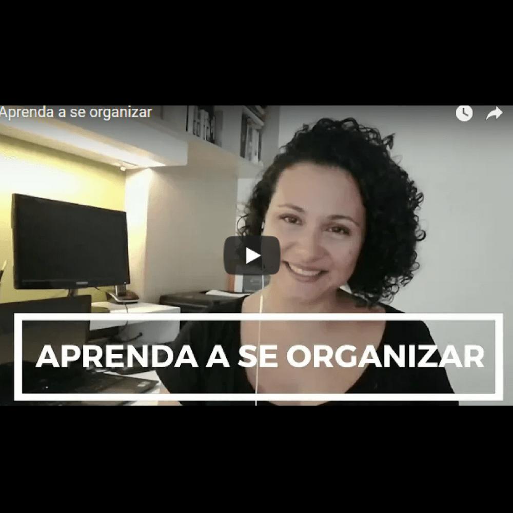 aprender a se organizar