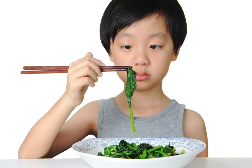 crianças comem diferente neofobia