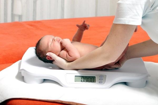 como fazer para o bebe ganhar peso