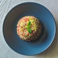 Salada de Quinoa, Tomate e Pepino