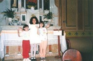 Flávia, eu e Maísa