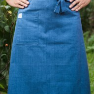 Avental de Cintura Azul Jeans