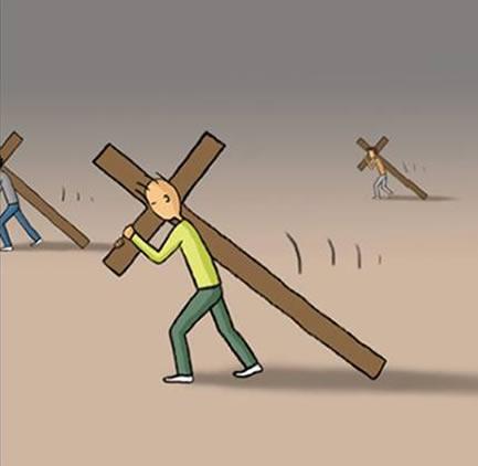 Carregue sua cruz por completo (2/6)