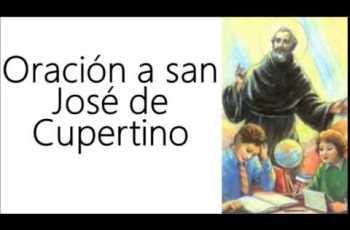 Oración a San José de Cupertino: Estudiantes y Exámenes