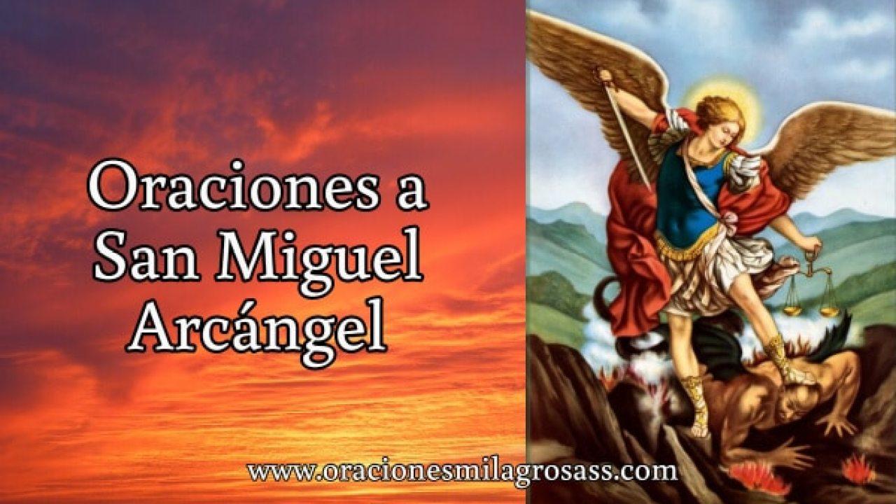 4 Oraciones Cortas A San Miguel Arcángel