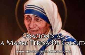Plegarias a la Madre Teresa de Calcuta