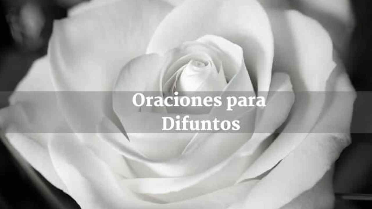 Oración Para El Descanso Eterno De Un Fallecido2019