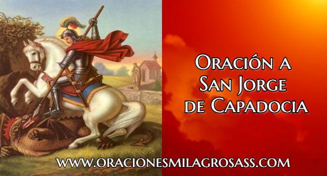Rezo a San Jorge de Capadocia