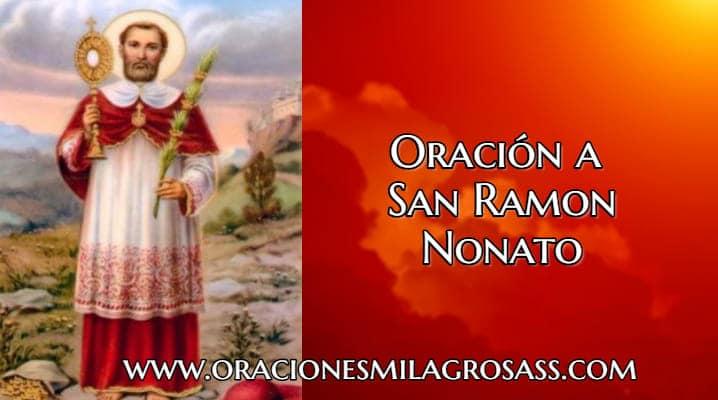 Plegarias a San Ramon Nonato