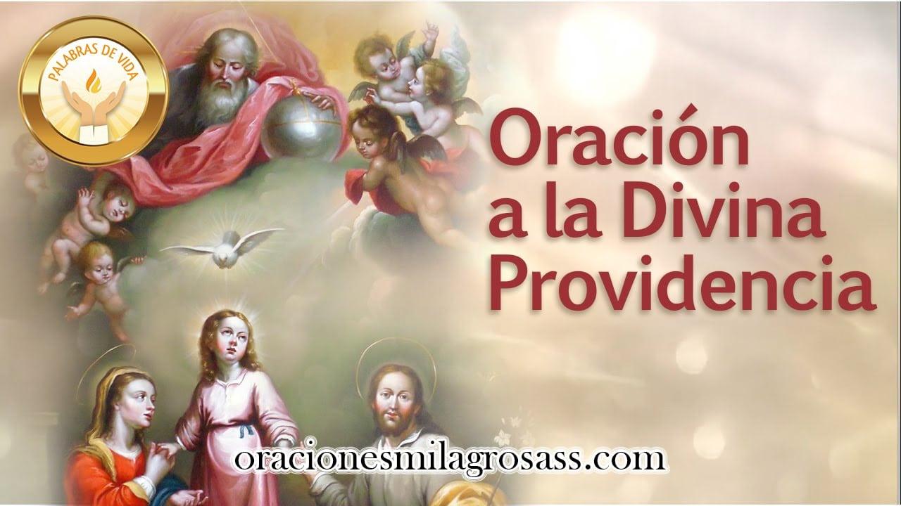 Oración A La Divina Providenciadinero Trabajo Y Más