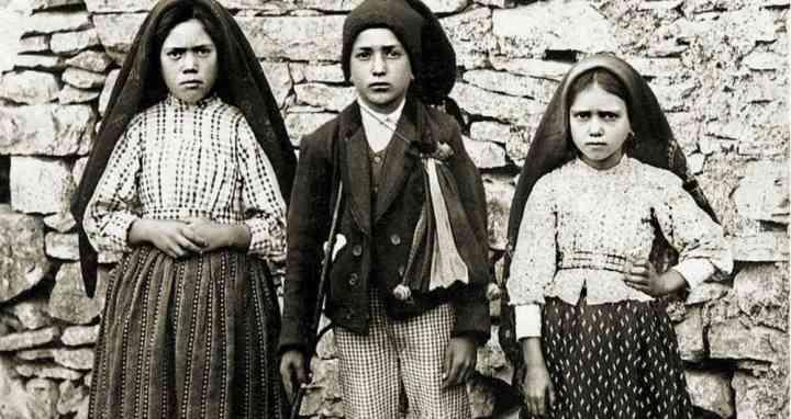 Santos pastores de la virgen de Fátima