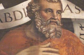 Santo Profeta Abdias