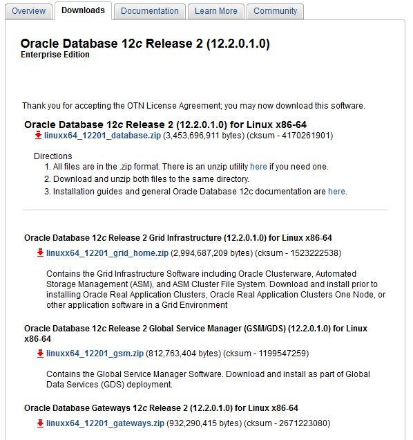 Oracle Database 12cR2 (12 2) On-Prem - ORACLE-HELP