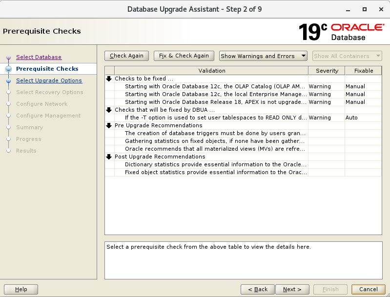 Upgrade Database from Oracle 11gR2 to Oracle 19c - ORACLE-HELP