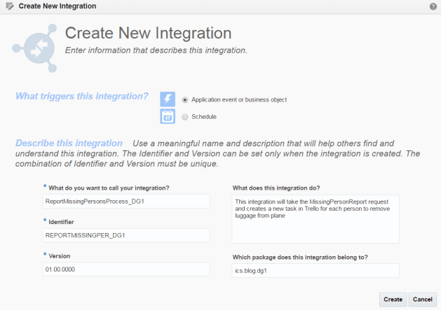 Create Orchestration Wizard