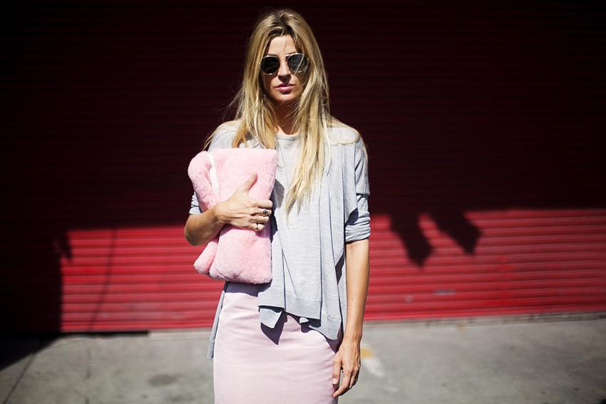 Pink-Clutch