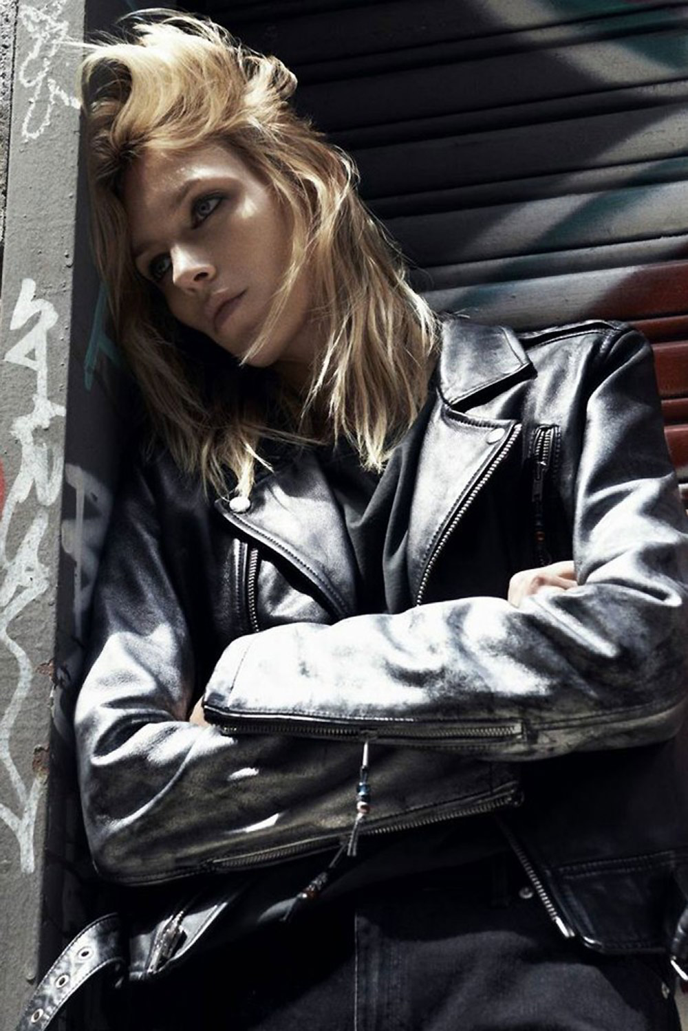 anja, rubik, johan, lindeberg, portraits, blk, denim, campaign, new, york, oracle, fox