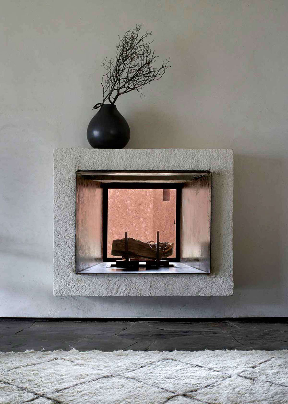 Moroccan, Home, Interior, Industrial, Minimal Inspiration, Fire Place, View, Oracle Fox