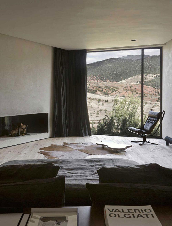 Moroccan, Home, Interior, Industrial, Minimal Inspiration, Living Room, Black, Oracle Fox