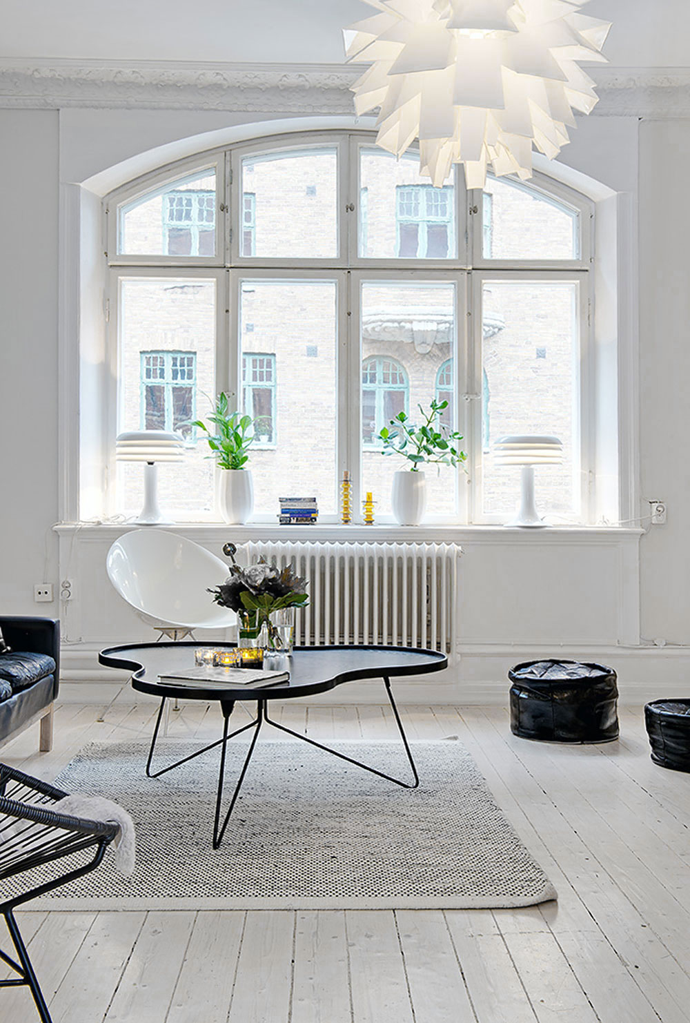 White, Home, Interior, Industrial, Minimal Inspiration, White Floorboards, Oracle Fox