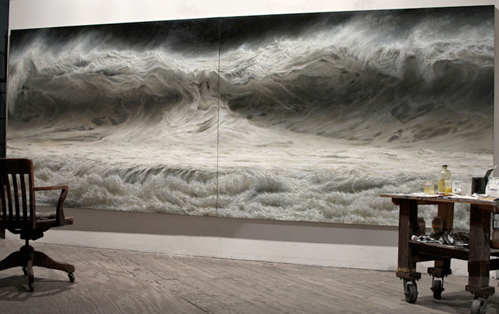 ran ortner, seascapes artist, art, sea, realism, oracle fox,