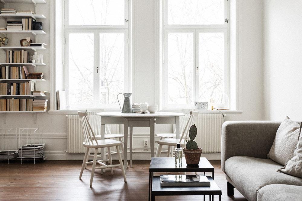 Oracle-Fox-Sunday-Sanctuary-White--Scandinavian-Living-Room-Interior-Book-Case-Wooden-Floors-1