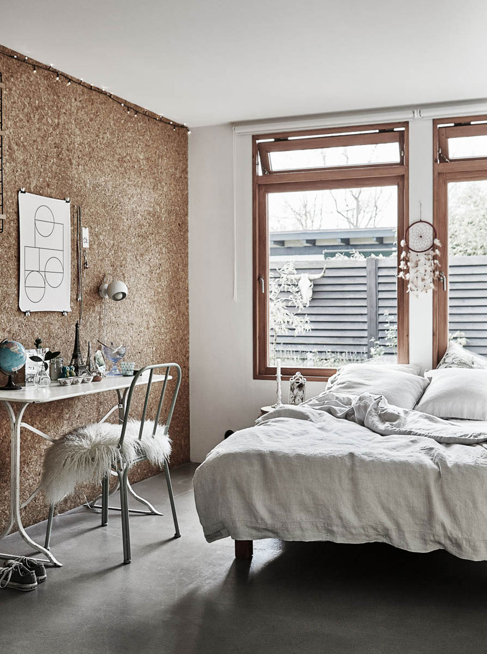Oracle, Fox, Sunday, Sanctuary, Tina, Hellberg, Minimal, Scandinavian, Interiors,  Wooden, Bright, Bedroom