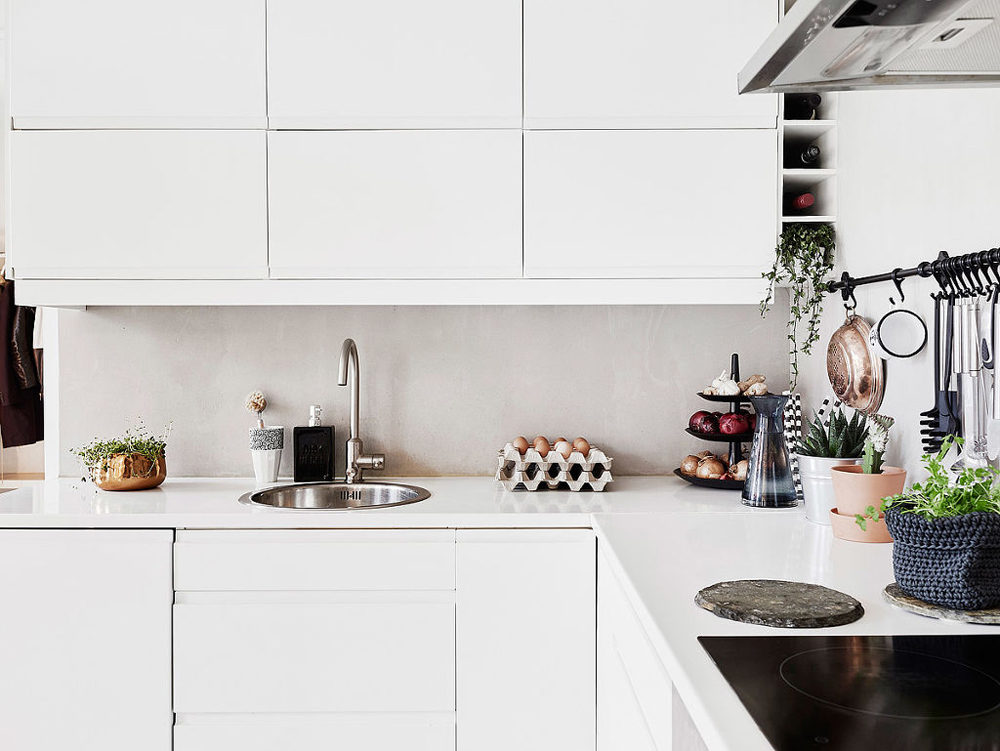 Oracle, Fox, Sunday, Sanctuary, At, Ease, Monochrome, Scandinavian, Interior, Kitchen,