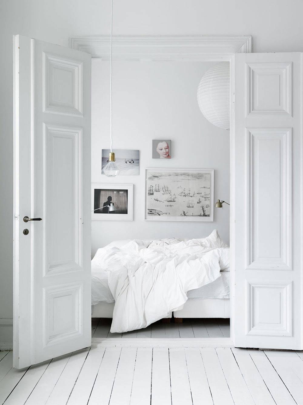 Oracle, Fox, Sunday, Sanctuary, White, Interior, White, Bedroom, Cosy, Bed