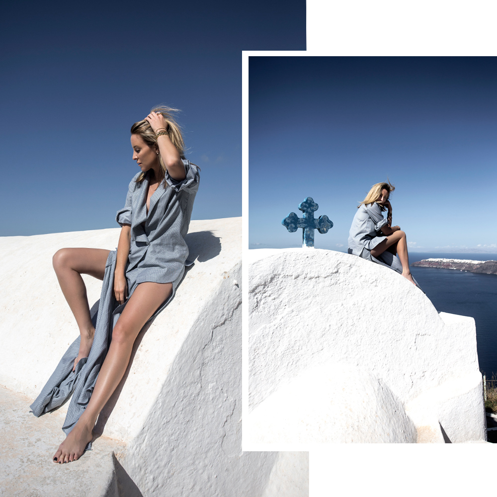 michael lo sordo, santorini, greece, outfit post, amanda shadforth, oracle fox, holiday outfit