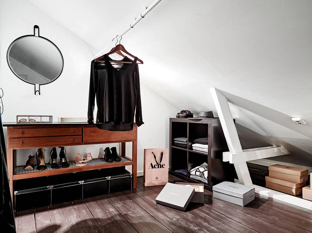 Oracle Fox, Sunday Sanctuary, Elsewhere, Small Apartment, living, Alternative Scandinvian, Interior, Designer Closet