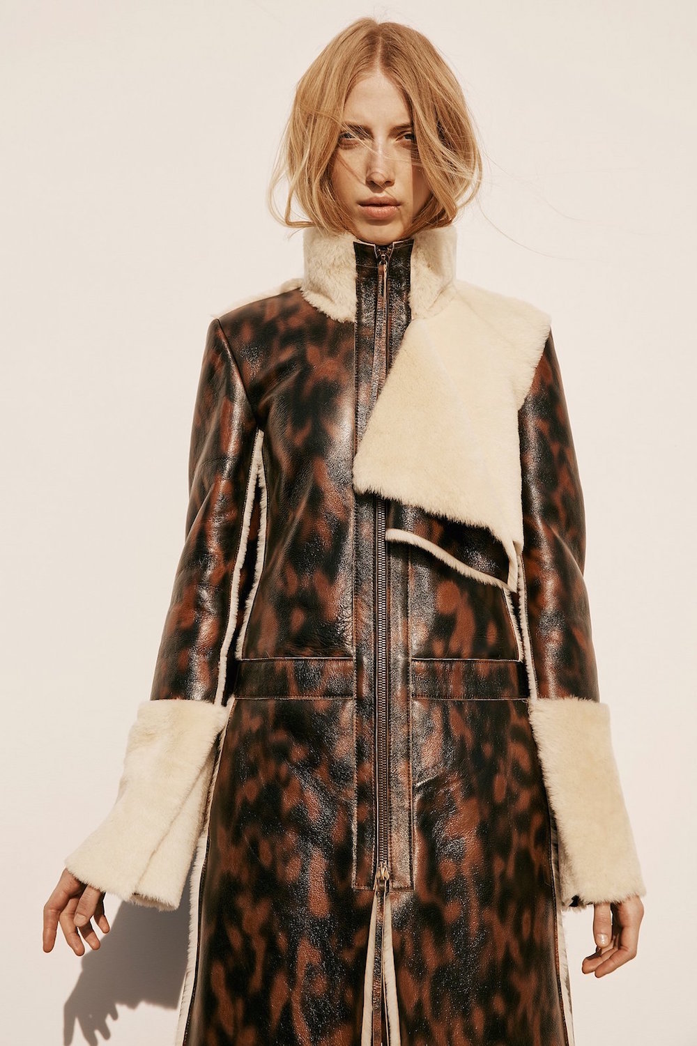 Calvin Klein, calvin klein collection, pre fall 2016, lookbook, leopard, trend, oracle fox