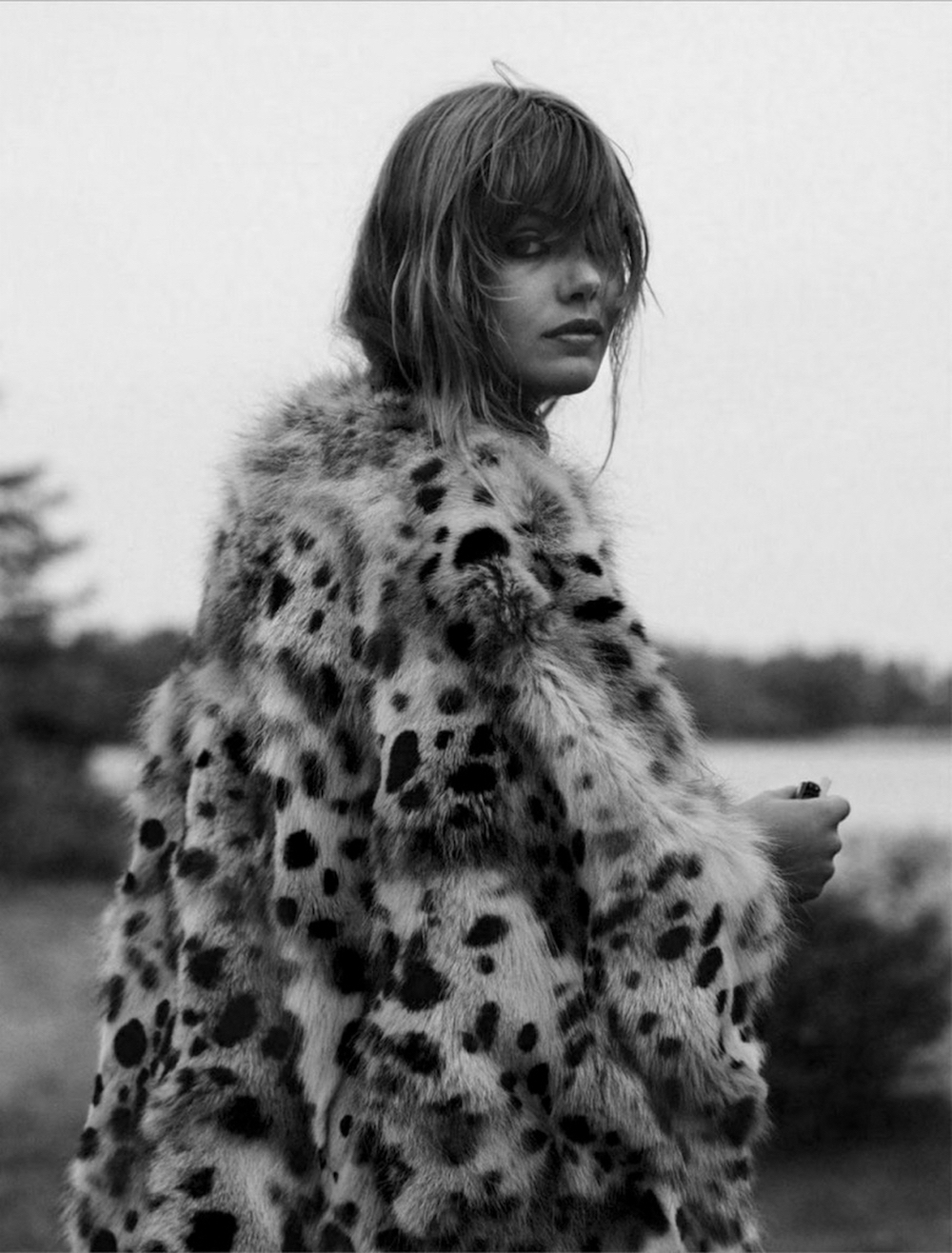 frida gustavsson, glamour magazine, glamour france, leopard, trend, oracle fox