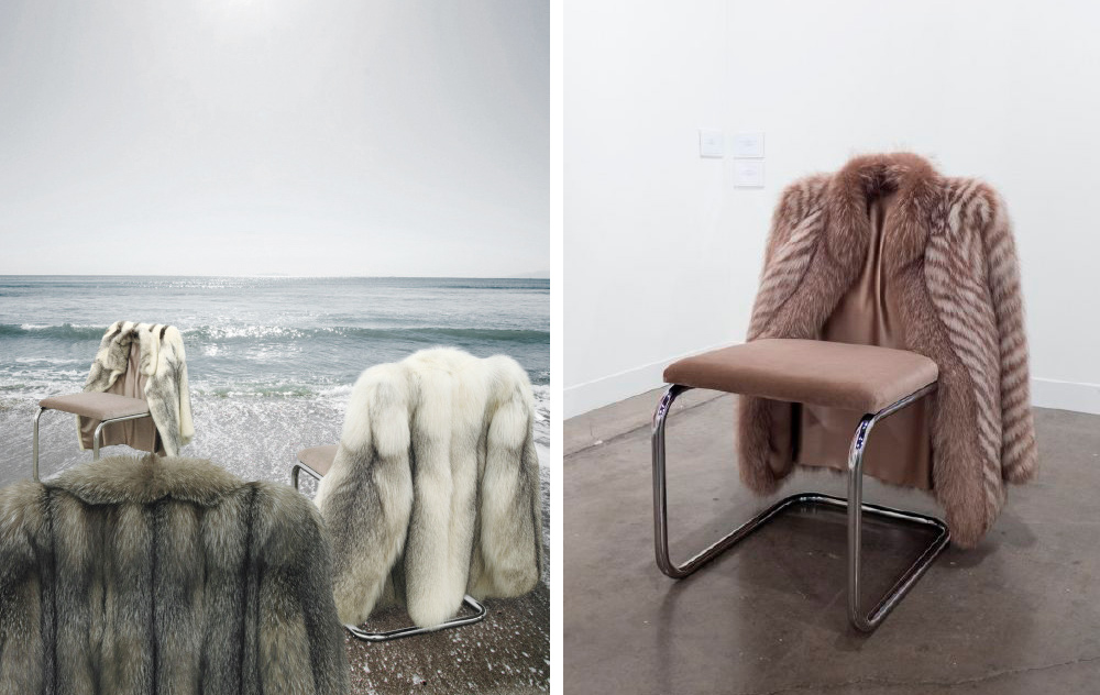 Nicole Wermers, Nicole Wermers Chairs, Wermers Artist, Nicole Wermers Photography, Chairs In The Ocean, Amanda Shadforth, Oracle Fox