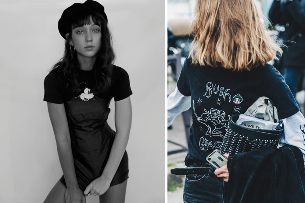 street style, editorial, campaign, printed, graphic, tee, t-shirt, trend, oracle fox