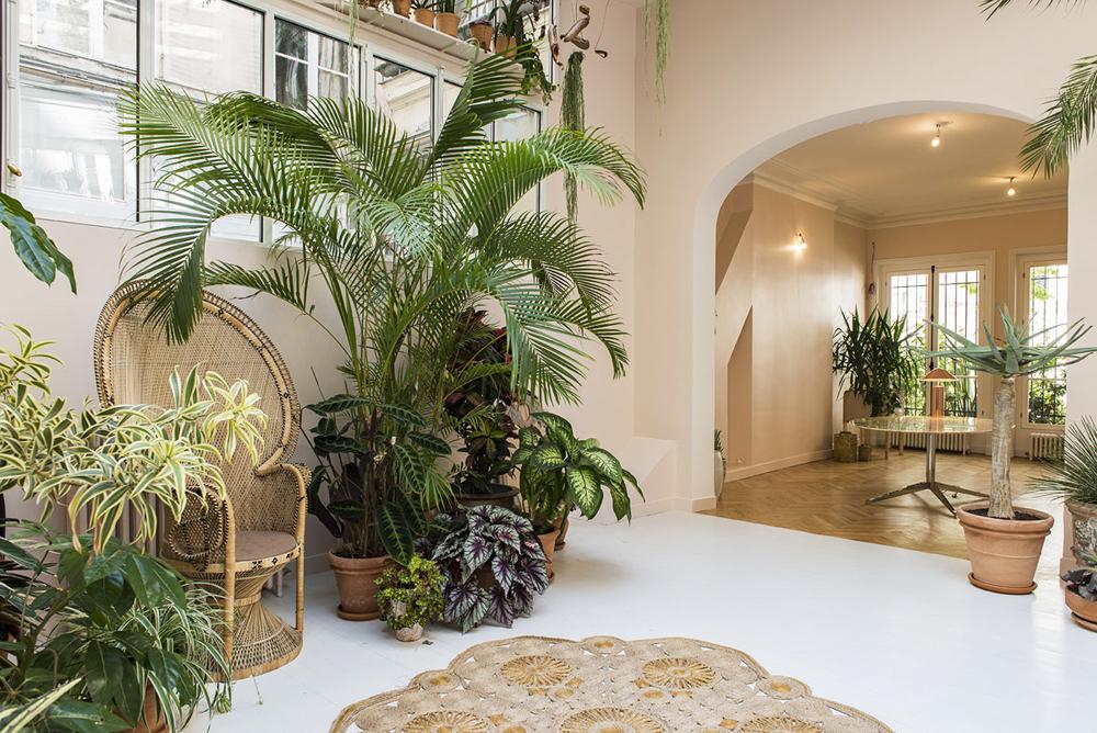 la villa rose, villa rose, paris, interiors, garden, sunday sanctuary, oracle fox