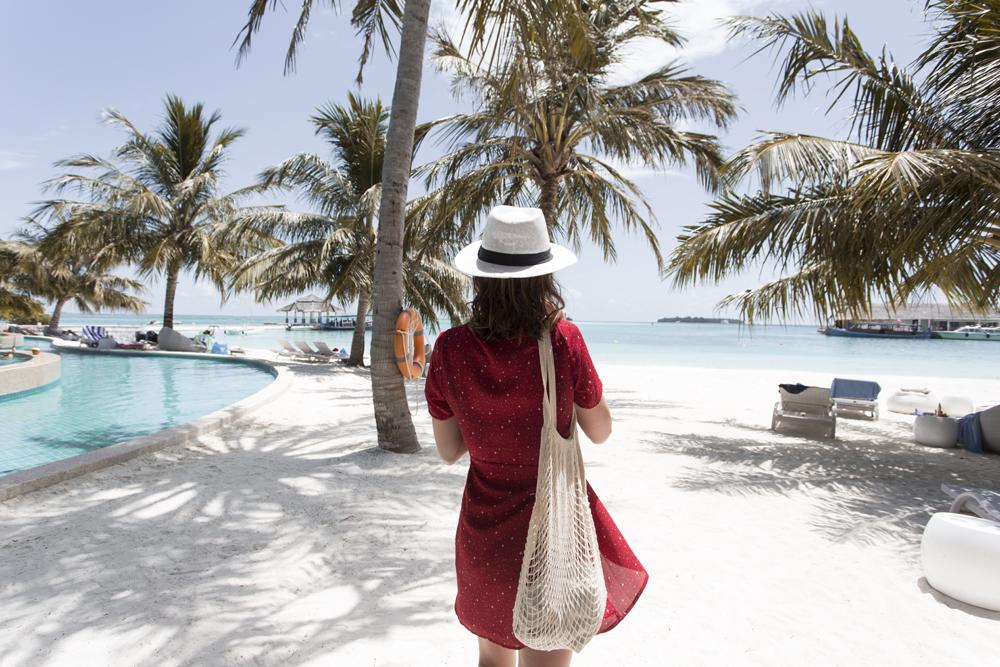 maldives, holiday, vacation, tropical vacation, island, swimwear, bikini, swimsuit, amanda shadforth