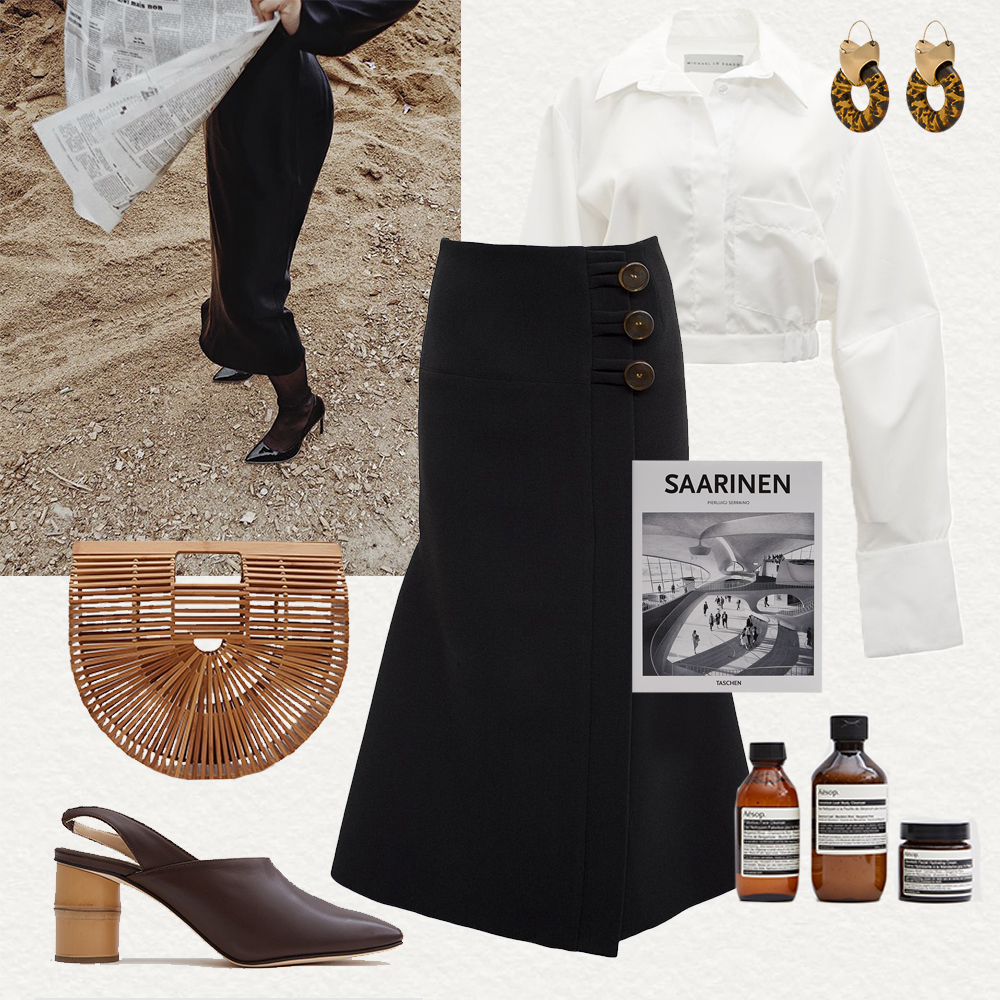 Outfit, Collage, Ellery, Christopher, Esber, Cult,  Gaia, Outfit, Inspiration