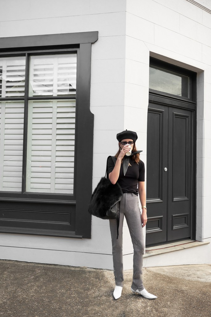 Outfit, Balenciaga, Pants, Trousers, Peter, Do, Bag, Amanda, Shadforth, Oracle, Fox