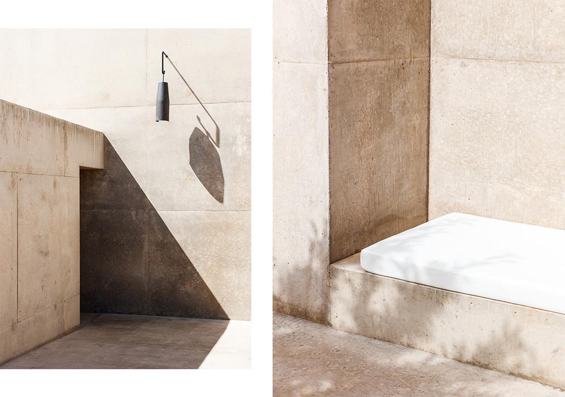 Interiors, Concrete, retreat, sunday, sanctuary, Amangiri, utah, oracle, fox