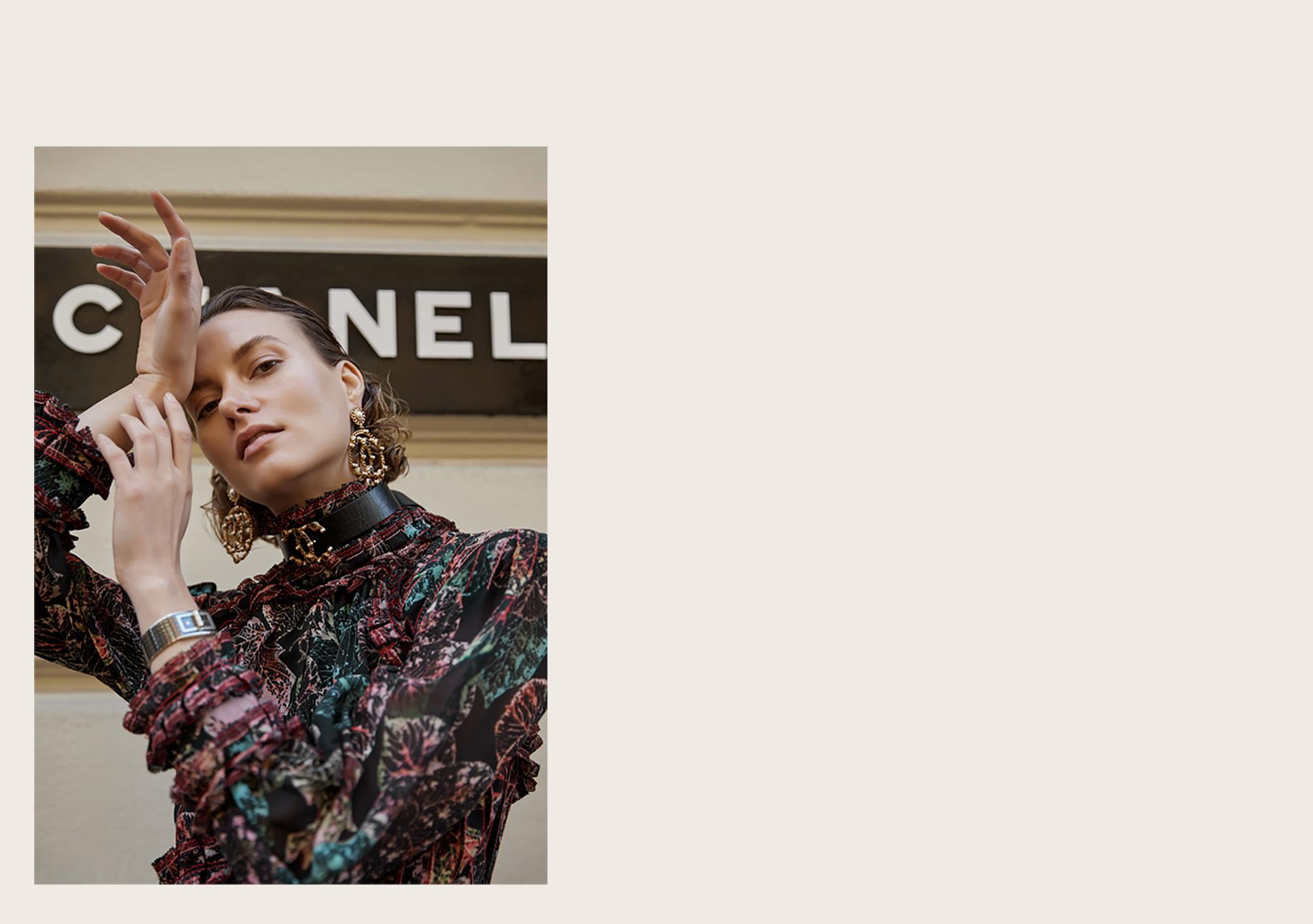 Coco, Code, Watch, Chanel, Photography, Editorial, Paris, Fashion, Week, Oracle Fox, Amanda, Shadforth
