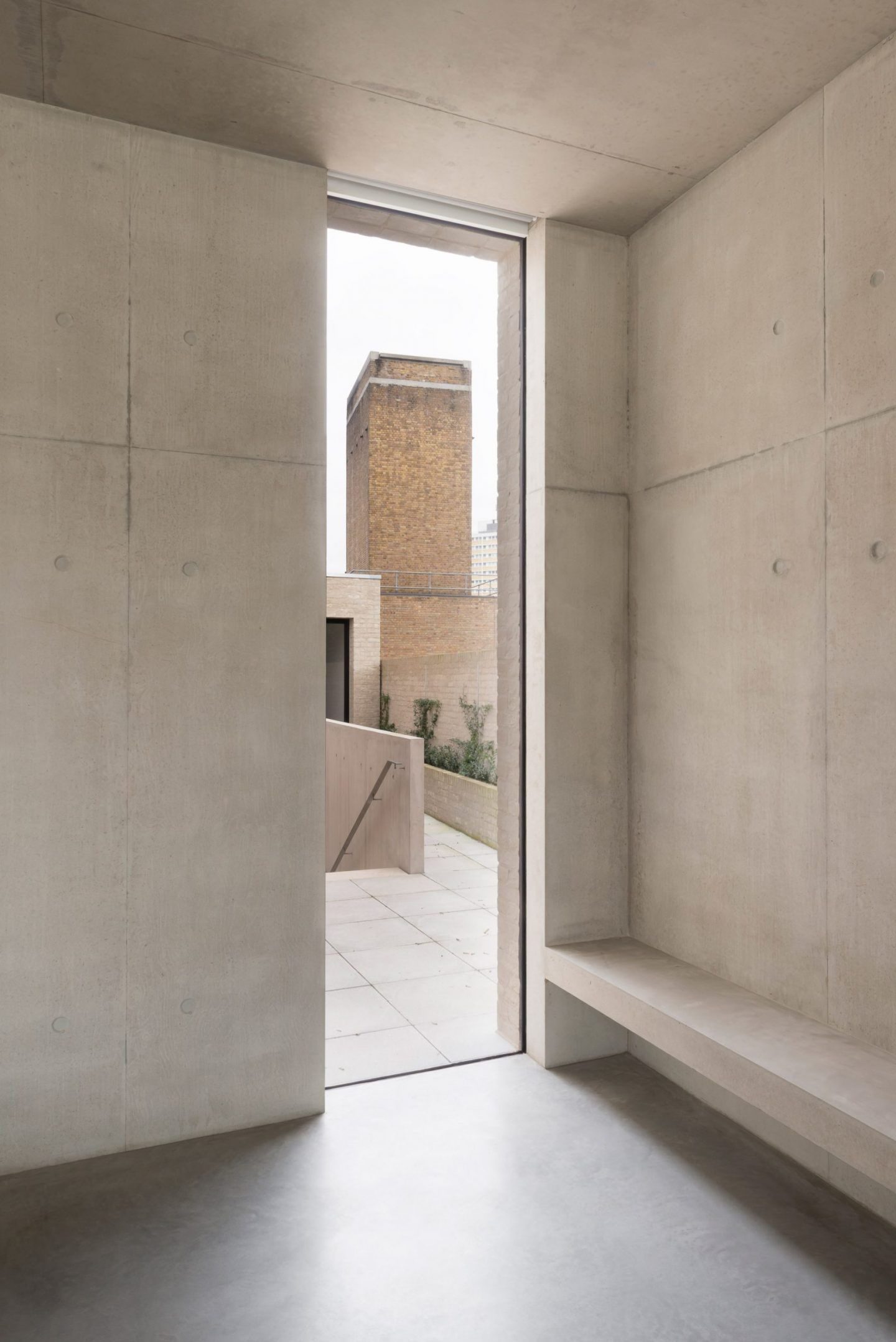 Sunday Sanctuary, Concrete, Minimal, Interior, space, concrete
