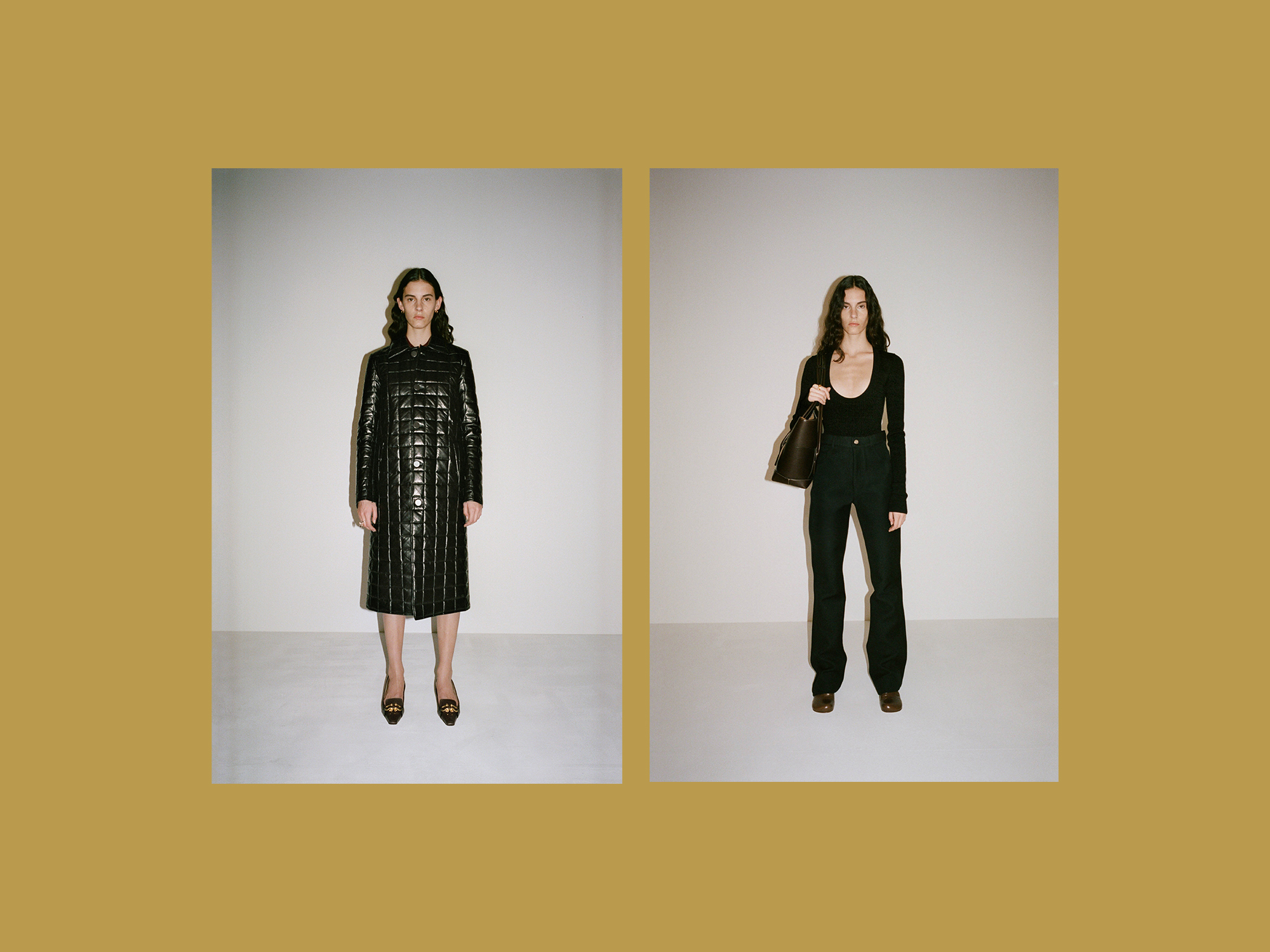 Pre, fall, 2019 Milian, Bottega Veneta, designers, look book,