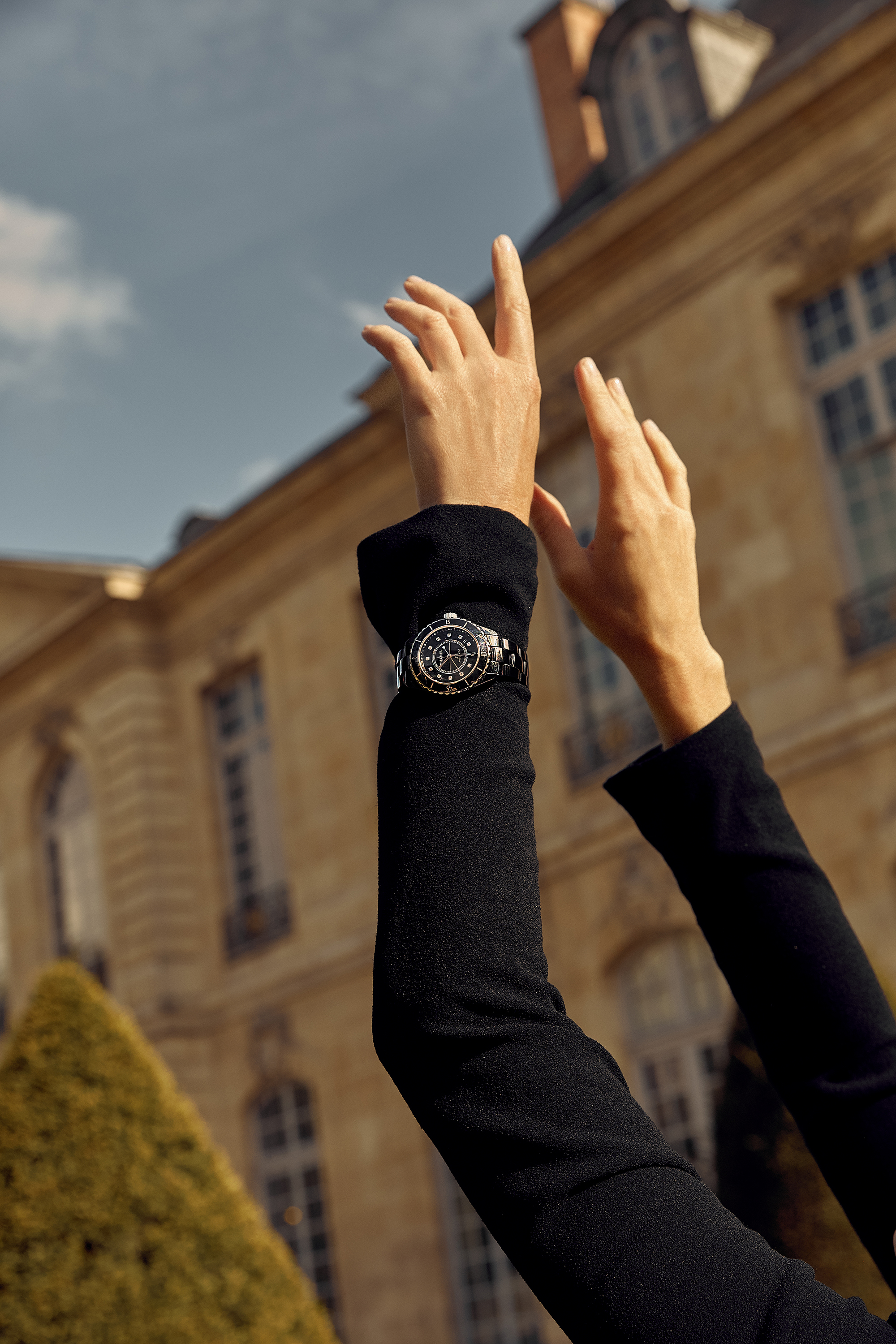Chanel, J12, Watch, Paris, Outfit, Cruise, Show, Fashion, Week