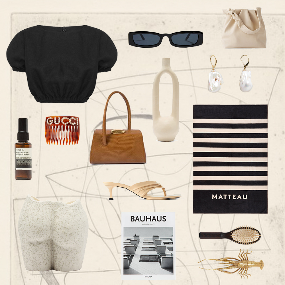 Shopping, Matteau, Essentials, Outfit, Collage