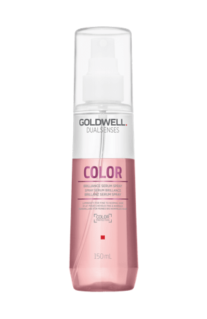 Serum spray for coloured hair